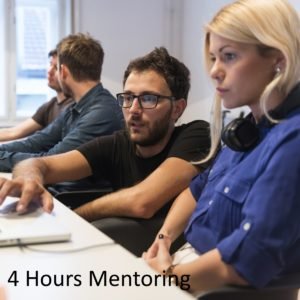 Up to 4 hours one-on-one mentoring with a Microsoft Certified Trainer (MCT)
