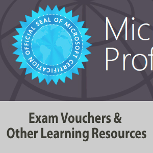 Exam Vouchers and Other Learning Resources